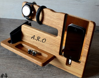 Gift for him, boyfriend gift,mens gift,husband gift,groomsmen gift,gift for men,For Man,For men,Personalized docking station,Christmas gift