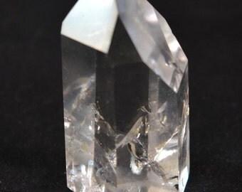 Quartz Crystal Polished Point for meditation, healing & Reiki