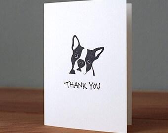 Handmade Archie Thank You Card