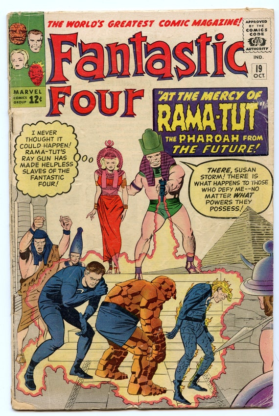 Fantastic Four 19 Oct 1963 VG- (3.5)