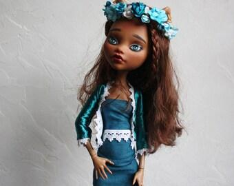 17 inch Monster High ooak Roy, repaint clawdeen wolf 43 cm doll