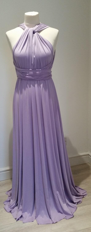Bridesmaid Dress Multiway Dress Convertible Dress Twist Wrap Dress ...