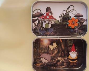 Altoids tin, Pocket Toy, Gnome's Forest