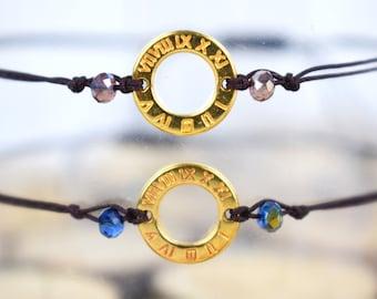 Delicate Charm Bracelet / Dainty Bracelet / Friendship Bracelet / New Year Bracelet / Good Luck Bracelet / Christmas Gift For Her