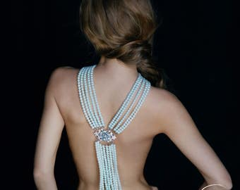 Pearl Necklace Anna, Pearl Jewelry