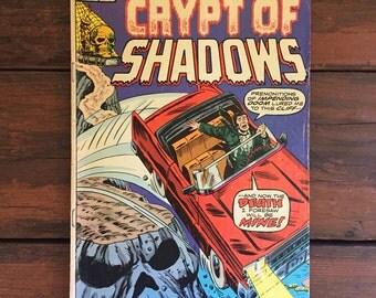 1975 Crypt of Shadows #21 Comic Book/ Marvel Comics