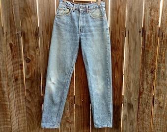 Vintage Levis 550 Men's Jeans 80's Medium Wash 31x32 Straight Leg