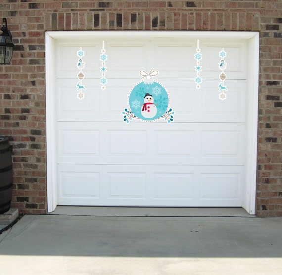 Decorate Your Garage With Christmas Magnets Christmas Garage