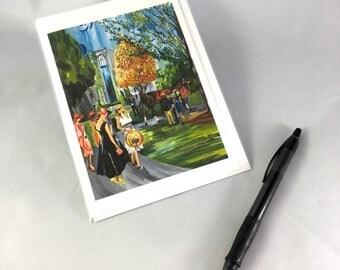 2017 Keeneland Design Greeting Card