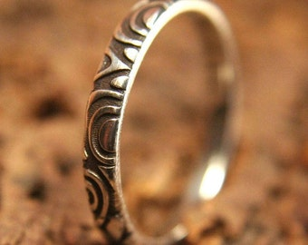 Ring About February/Silver 925