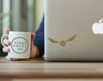 Golden Snitch - Vinyl Decal | Harry Potter