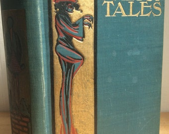 Hans Andersen's Fairy Tales Antique/Vintage circa 1900 illustrated victorian children's book Hardcover Rare WB Conkey Company, Dulcken