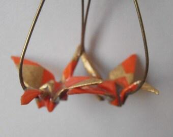 earrings origami