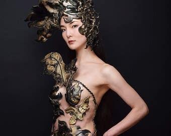 "Fraise au Loup Breastplate ""Leto"" - Cosplay - Valkyrie - Costume Designer"