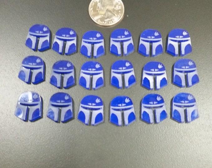 Star Wars Destiny Acrylic Shield Token Set (18 Shields)