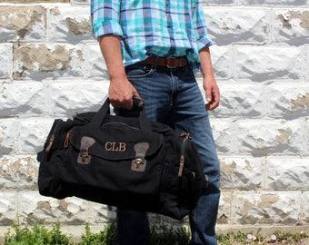 Groomsmen Gift Idea - Personalized Duffel Bag - Groomsmen Propodal - Groomsmen Bag - Anniversary Gift - Father's Day Gift - Graduation Gift