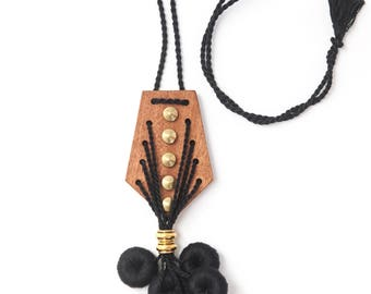 Amaranto Necklace - Black