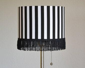 "Lampshade ""Black&White"", various sizes"