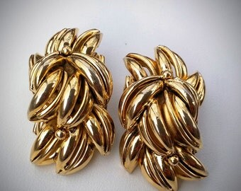 POCCI PARIS Earrings - RARE!! - Vintage French Designer - Made in France