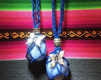 Angelite Amulet