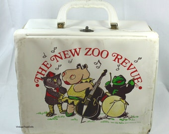 Vintage The New Zoo Revue Vinyl Lunchbox 1974 HTF