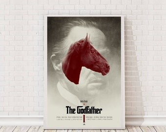 The Godfather Poster Art Film Poster Classic Movie Poster
