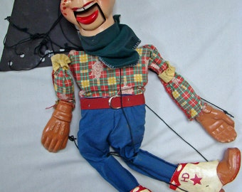 HOWDY DOODY Collection of 4 puppets