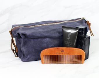 The Ultimate Toiletry Travel Bag - Premium Waxed Canvas Dopp Kit