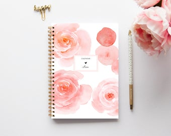 2018 Planner - 2018 Weekly Planner - Custom Planner - Journal - 2018 Diary - Custom Gift