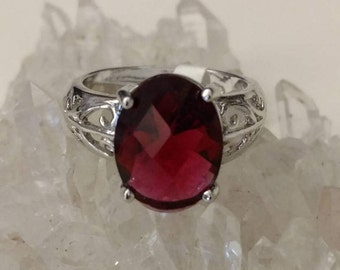 CLEARANCE *Red Ruby Spinel Gemstone Ring