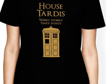 Dr Who shirt, Doctor Who T Shirt, Game of Thrones Shirt - Funny House Tardis Shirt, Geek Gift, Tardis Shirt, Doctor Who Police Box Shirt