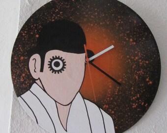 Vinyl Clock 'A Clockwork Orange'