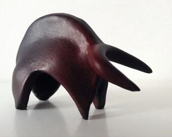 Ceramic bull sculpture Sardinia | Zodiac | ceramic sculpture | ceramic figure | ceramic bull | animal figure