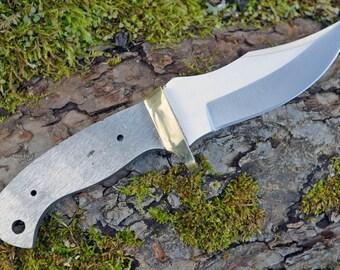 Clip Point B Knives Knife Blades Blanks Hunting Blank Blade Hunter Parts Making [bl7713]