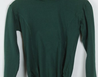 Vintage Body, 90s clothing, dark green, 90s