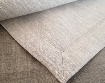 Extra Large Linen Tablecloth - Gray Linen Tablecloth - Light Grey Tablecloth - Wedding Tablecloth - Elegant Tablecloth - Large Tablecloth