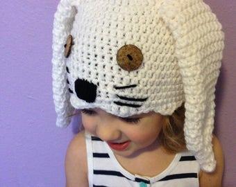 Bunny hat, Crochet bunny, Bunny, Rabbit, Rabbit hat, Long ears, Bunny Beanie, Easter, Easter hat, baby, toddler, child