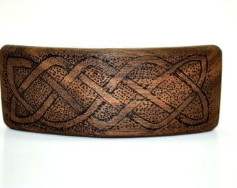 Strip knot Celtic of Walnut