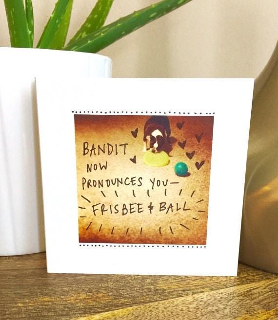 Wedding card funny, wedding card unique, wedding card, congratulations, wedding card handmade, boston terrier card, wedding dog card