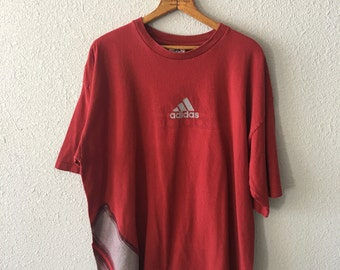 1990's Adidas Vintage Adidas T Shirt Made in the USA