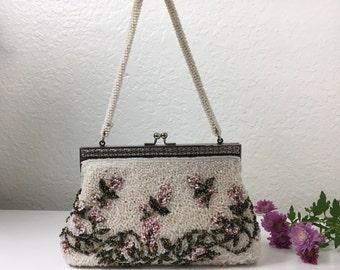 40's Show Business Beaded Handbag