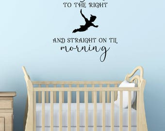 Peter Pan Wall Decal - Neverland Wall Decal