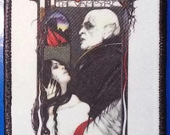 Nosferatu the Vampyre (1979) - Full Color PATCH - HORROR - Werner Herzog, Klaus Kinski