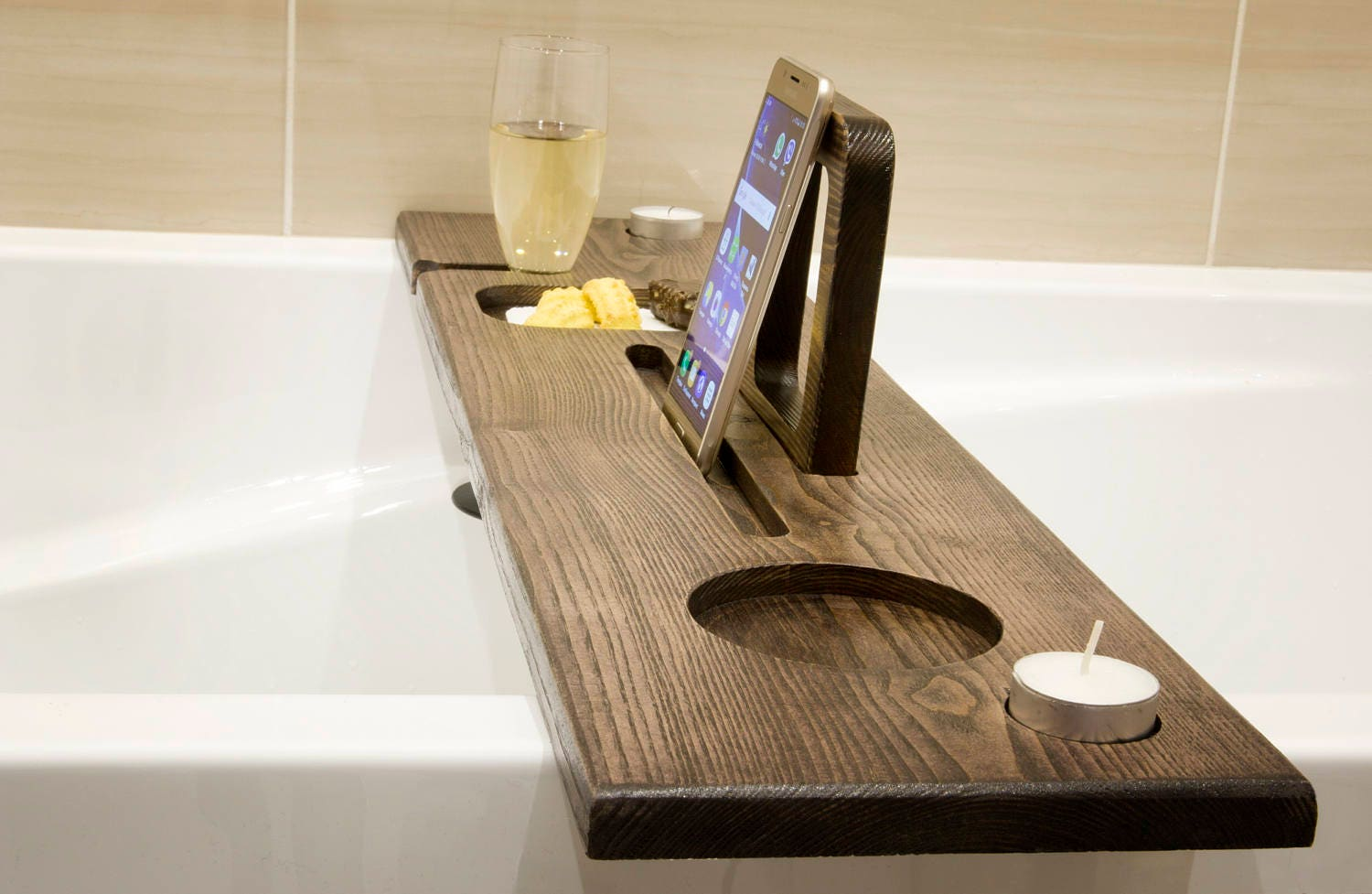 bath caddy bath ipad stand bath drinks holder birthday. Black Bedroom Furniture Sets. Home Design Ideas