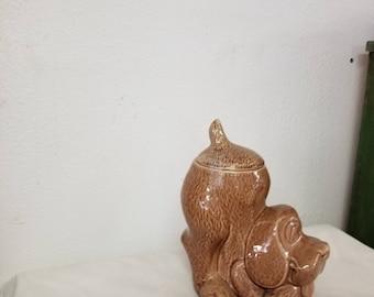 USA McCoy Dog Cookie jar, vintage cookie jar, Dog collectible, McCoy Dog, McCoy pottery, Vintage kitchen, Collector cookie Jar,