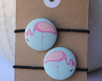 Flamingo Hair Ties, Flamingo Accessories, Hair Bands, Hair Accessories For Girls, Pink Flamingo
