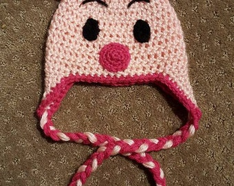 Crocheted Piggy Hay