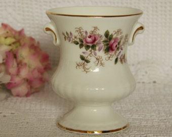 Royal Albert Lavender Rose Vase Urn Shape