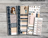 Elle Girl - SewMuchCrafting SMC WO2P Personal-Sized Planner Inserts - 3 Sheets (Matte Only)