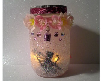 fairy lantern// fairy jar// wedding decor// bridal shower// gifts for her// birthday party//wedding centerpiece//fairy party//fairy theme//